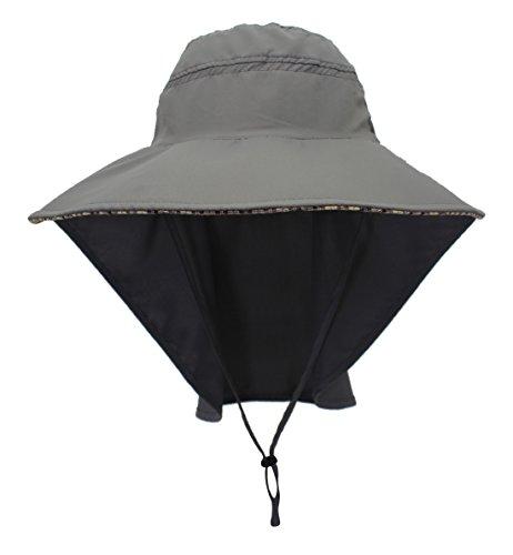 Outdoor zonnehoed UV nekbescherming boonhoed zonwering sneldrogend schermpet waterdicht zomer hoed voor vissen wandelen camping boat