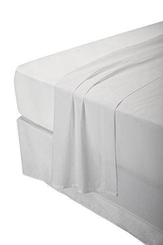 Pikolin Home - Juego de sábanas, 100% algodón, 150 hilos, calidad extra, varios colores, 160x200cm-Cama 150-160 (Todas las medidas)