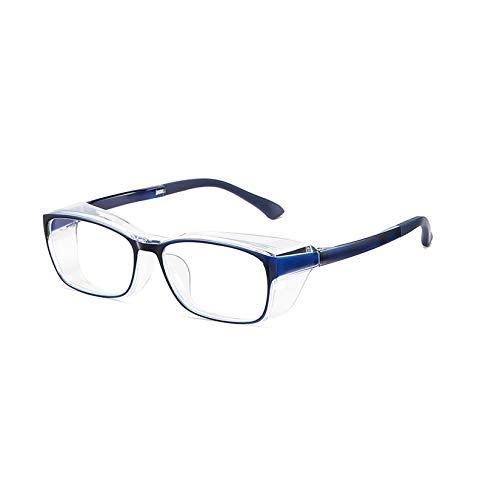 LORIEL Anti Blaulicht Computer Brille, Komplett Geschlossene Schutzbrille, Schlafen Besser, Reduzieren Von Augenstamm, Anti-Augen-Computer-Gaming-Gläser,B