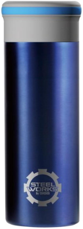 SIGG (Sig) Steel Works thermo mug 0.32L blueee 90175