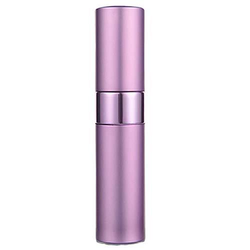 XdiseD9Xsmao Atomiseur Cosmétique Durable De Parfum en Aluminium Rechargeable De Bouteille De Jet Vide De 15ml Violet
