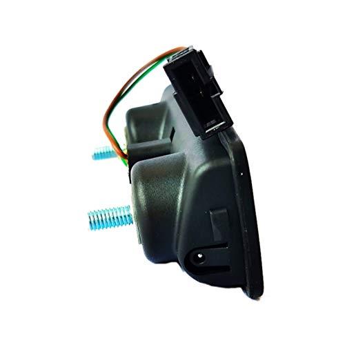 RONGSHU Cerradura de troncal de automóvil Interruptor troncal en Forma para Skoda Fabia 2007 6Y0827574K 6Y0827574J (Color : Black)