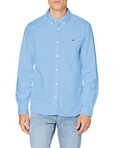 Lacoste CH2671 Camicia Uomo, Blu (Panorama), 38