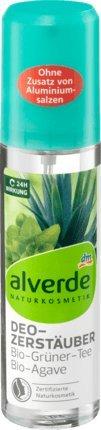 alverde NATURKOSMETIK Deo-Zerstäuber Bio-Grüner Tee & Bio-Agave 75ml@, 1 x 75 ml