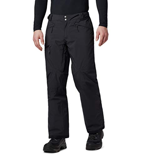Poli/éster Columbia Pantal/ón de esqu/í impermeable para hombre Cushman Crest Pant 1798702