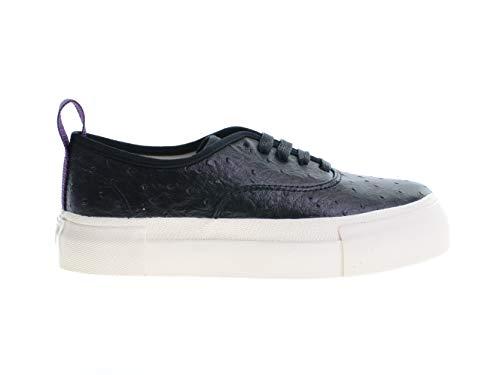 Eytys Mother Damen Schuhe Sneaker Laufschuhe Turnschuhe Schwarz Leder, Größe:41