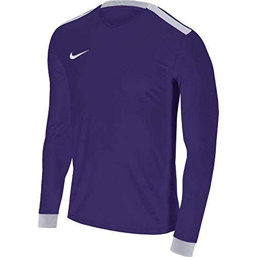 Nike Park Derby II LS Maglietta, Bambini, Park Derby II LS, Viola (Court Purple/White), L