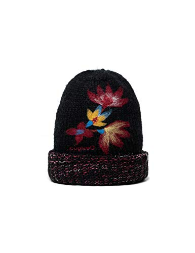 Desigual Hat_Twist Fascia per acconciatura a Turbante, Black, U Donna