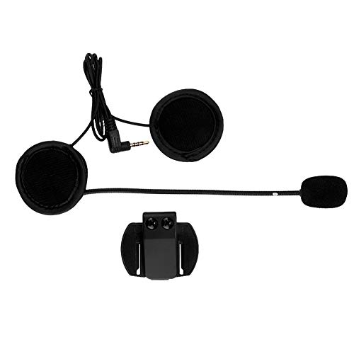 Fydun Auricular Bluetooth Interphone Auricular de motocicleta Auricular Bluetooth para modelos V6 y V4