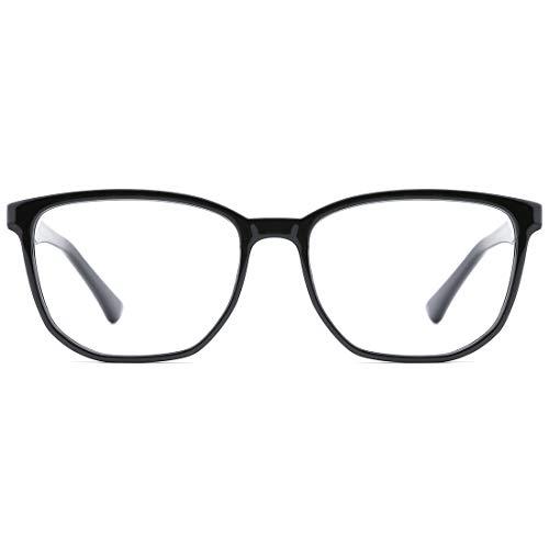 TIJN Blaulichtfilter Brillen Vintage Unregelmäßige Leichte Rahmen Anti Blue Ray Brillen für Damen und Herren Kinder