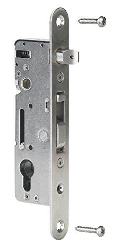 Zaundirekt Locinox Einsteckschloß mit 35mm Dornmass Aluminium/Holz