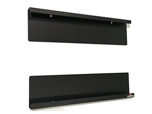 Supporto, montaggio a parete, iPad compatibile MINI 1-2-3-4 e altre stesse dimensioni 20 cm, con o senza guscio protettivo sottile. Acciaio satinato nero
