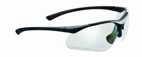 Swiss Eye Lunettes de Sport Maverick Noir Rubber Black -