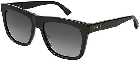Gucci Square Sunglasses for Women - Grey Lens, GG0158S-001-54