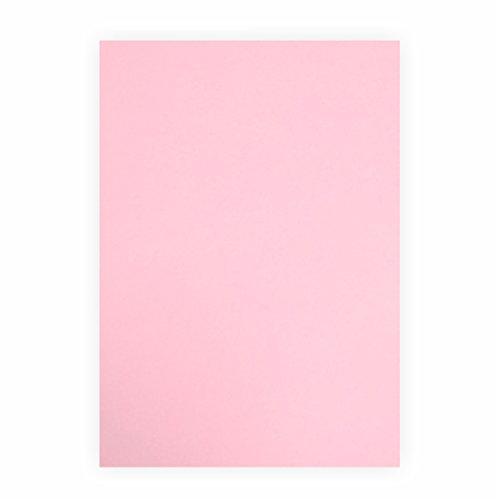 Tonpapier rosa 130g/m², 50x70cm, 1 Bogen/Blatt