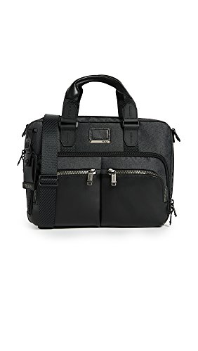 Tumi Alpha Bravo - Albany Slim Commuter Brief 14' Aktentasche, 37 cm, 12.17 L, Anthracite