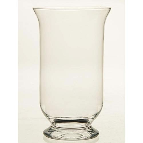 Kelk vaas glas 30 cm Transparant