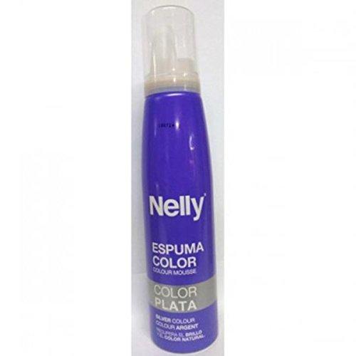 Nelly Espuma Color Plata - 150 ml
