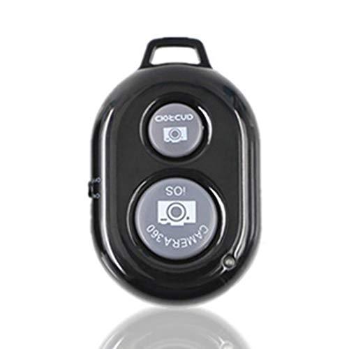 Bluetooth Remote Shutter - Fernbedienung Kamera Selfie Shutter Stick für Telefon Android Windows Kamera Fernbedienung Selbstauslöser - Schwarz