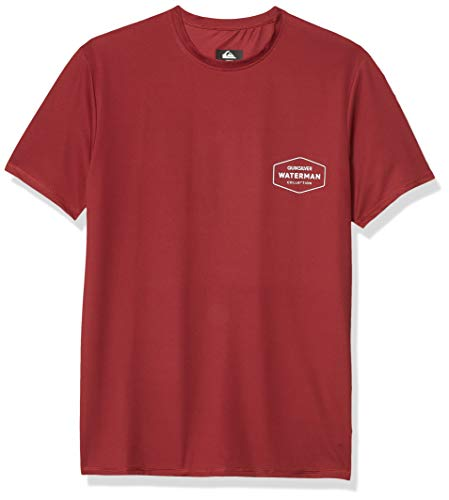 Quiksilver Men's Gut Check Ss Short Sleeve Rashguard Surf Shirt