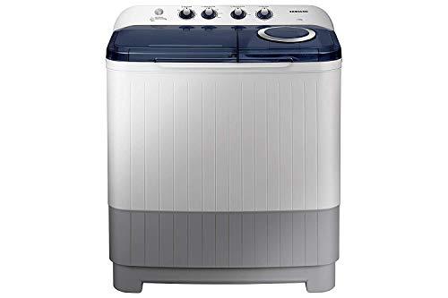 Samsung 7.5 kg Semi-Automatic Top Loading Washing Machine (WT75M3200HB/TL, Light Grey, Air turbo drying)