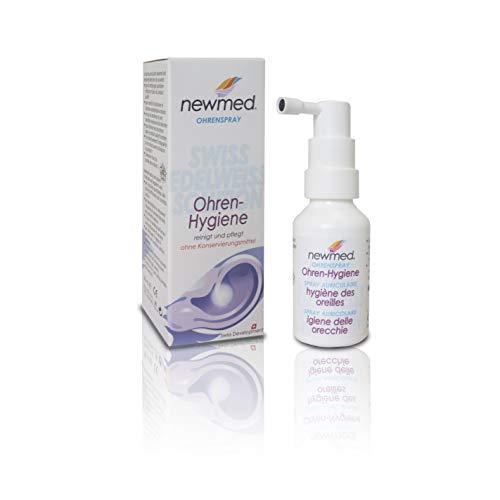 newmed Ohrenspray 30ml - hygienische Ohrenreinigung für Erwachsene und Kinder