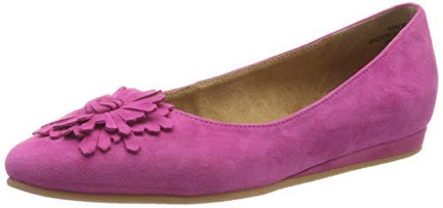 Tamaris Damen 1-1-22119-24 Geschlossene Ballerinas, Pink (Fuxia 513), 40 EU