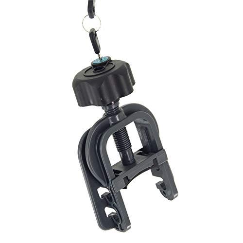 Twinny Load 7902012 Twinnyload Sabot de serrage avec vis en étoile verrouillable pour traditionnel C&CK/Ergo Swing CK, gris