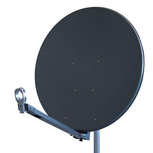 Antenne Gibertini 85 cm Alu Anthrazit XP - Profi - Serie Premium