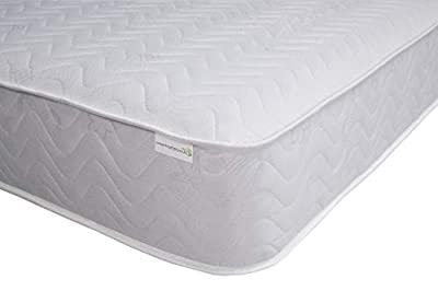 Starlight Beds - Quilted Sprung Cool Blue Memory Foam Mattress, Shorty Mattress, Small Single Mattress, Single Mattress, Small Double Mattress, Kingsize Mattress