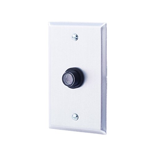 NSi Industries, LLC TORK RKP311 Outdoor 120-Volt Button Photocontrol With Wall Plate - Controls Lighting Dusk to Dawn - Compatible with Incandescent/Compact Fluorescent/Halogen/LED