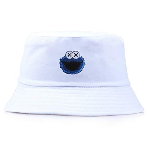 H/A Gorra de barril de doble pecho, gorra, sonrisa, hombres, mujeres, moda, bob, hip hop, hombre, sombrero de verano AZHAA (color: 3, tamaño: talla única)