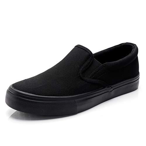 [ドウダイ] スリッポン メンズ レディース カジュアル カップル スニーカー デッキシューズ キャンバス地 靴 歩きやすい 消臭 28cm 28.5cm 29cm 大きいサイズ有り