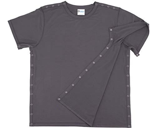 Camiseta de Cirugía Post-Hombro – Mujer – Talla Unisex, gris, XXL