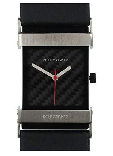 Horloge - Race - zilverkleurig zwart
