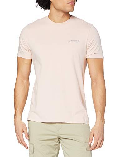 Dockers Logo Tee, Camiseta Hombre, Rosa Sepia, XXL