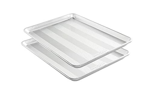 Nordic Ware Prism Baking Half Sheet 2-Pack, Natural