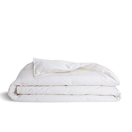Brooklinen Down Alternative Comforter for King/Cali King Size Bed - Hypoallergenic Lightweight Duvet Insert