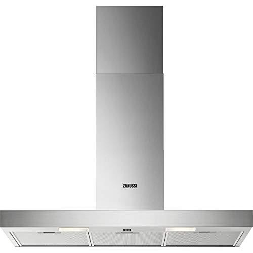 Zanussi ZHB90460XA / Abluft oder Umluft / 90cm / Edelstahl / max. 270 m³/h / min. 59 – max. 66 dB(A)