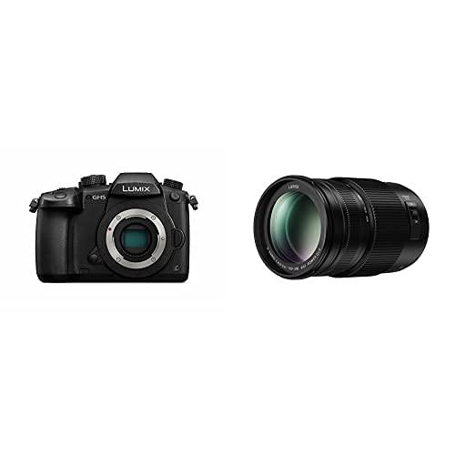 Panasonic Lumix DC-GH5 - Cámara Evil de 20.3 MP + Panasonic LUMIX H-FSA100300 II - Objetivo Tele Zoom para cámaras de Montura M4/3