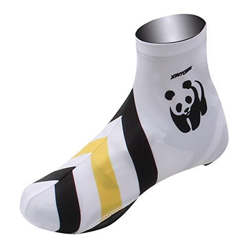 Couvre-chaussures de cyclisme Jaune Dragon Riding Couvre-chaussures, Couvre-chaussures, Couvre-chaussures multi-fonctions imperméables et coupe-vent, Couvre-chaussures haut Velo route vtt
