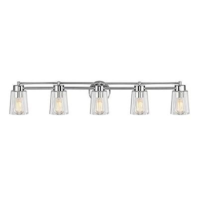 Design Classics Lighting Chrome Bathroom Light