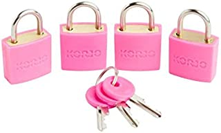Korjo Luggage Lock, 3 Centimeters, Pink