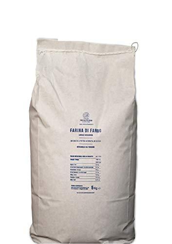 Farina integrale di farro Monococco BIO macinata a pietra - 3 sacchi da 5 kg
