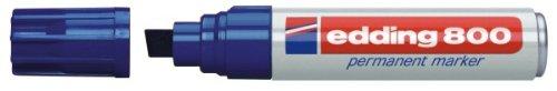 edding 4-800003 Permanentmarker 800, nachfüllbar, 4 - 12 mm, blau