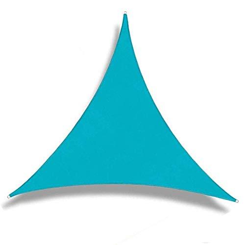 Pantalla de tela de sombreado neto Triángulo 3D Tire desgaste del anillo de protección solar anti-oxidación de polietileno resistente a arrugas Prevención al aire libre, 10 tamaños, 7 colores Respetuo