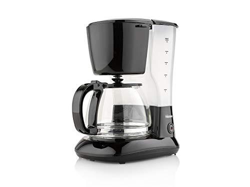 Tristar Kaffeemaschine mit 1,25L Fassungsvermögen – für 10-12 Tassen, auch für camping, CM-1245, schwarz