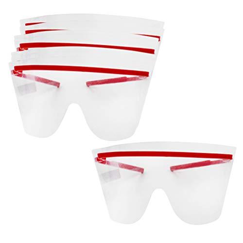 EXCEART Occhiali di Protezione 10Pcs Occhiali Medici Occhiali Protettivi Monouso Occhiali Antispruzzo per La Protezione Personale Laboratorio Chimico