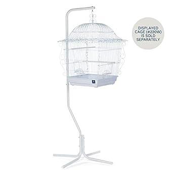 Prevue Pet Products Support pour Cage à Oiseaux à Suspendre en Acier Tubulaire 1781, Blanc, 61cm par 61cm par 152cm