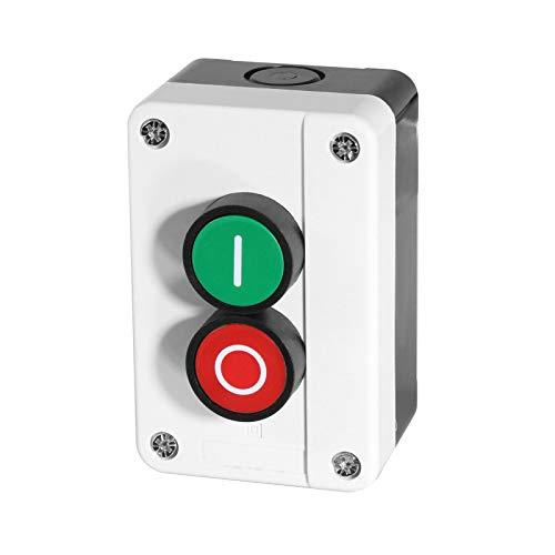 Aufbaugehäuse inkl Taster in 2-fach EIN/AUS oder 3-fach AUF/AB/STOP auswählbar (2-Fach EIN/AUS)
